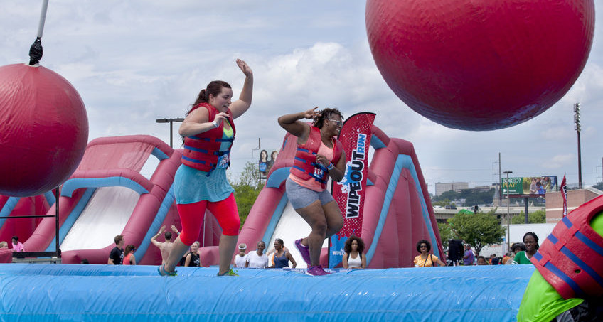 Use an obstacle course to bring the fun to fundraising