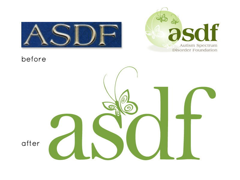 ASDF Before and After Logos