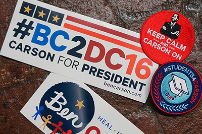 Carson bumper stickers and decals