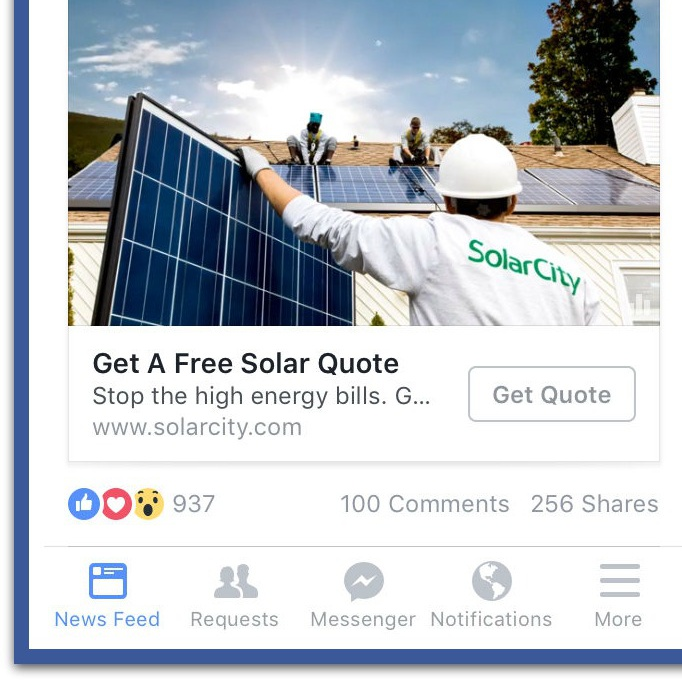Facebook Mobile Video Ads in News Feed