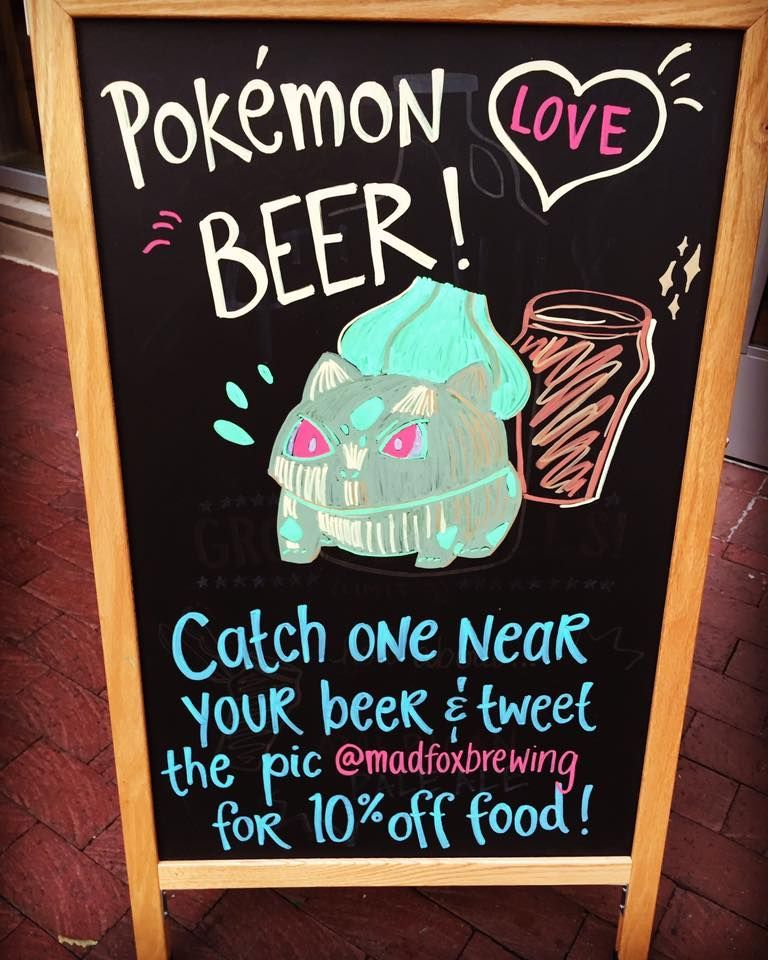 Mad Foz Brewing Pokemon Go promotion